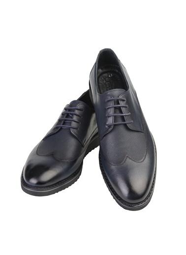 White Stone Ayakkabı Siyah Antik Lacivert